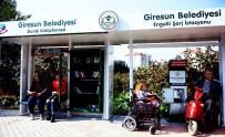 KİTAP OKUMA - Türkiye'de İlk Defa 'Durak Kütüphane Ve Engelli Şarj İstasyonu' Giresun'da Açıldı