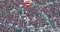 ZINCIRLIKUYU - Üçyol'da Asfaltlama Çalışması Sebebiyle Toplu Taşıma Güzergahları Değişecek