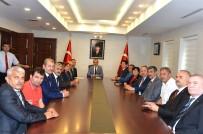 MISYON - Vali Vekili Mustafa Aydın'a Muhtarlar Günü Ziyareti