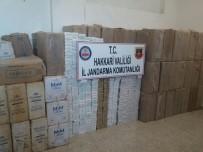 TAHKİKAT - Yüksekova'da 50 Bin Paket Sigara Ele Geçirildi