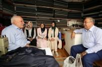 DÜNYA YAŞLILAR GÜNÜ - AK Parti Üyeleri Ve Başkan Kutlu'dan Yaşlılar Günü Kutlaması