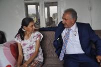 SELAHATTIN BEYRIBEY - AK Partili Vekilden 18 Yıldır Karaciğer Nakli Bekleyen Genç Kadına Anlamlı Ziyaret