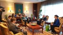 KAPALI ALAN - Başkan Gökçek, Ukrayna Heyetine Ankapark'ı Anlattı