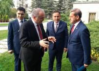 YASAMA YILI - Başkan Süleyman Özkan TBMM'nin Açılış Resepsiyonuna Katıldı
