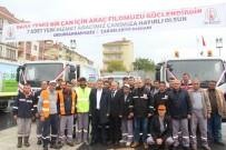 CAMİ İMAMI - Çan Belediyesi Temizlik Filosuna 7 Araç Ekledi