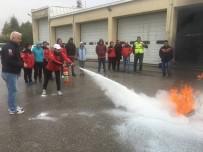 KASıRGA - Dorlion Arama Ve Kurtarma Derneği Üyeleri Yangın Eğitimi Aldı