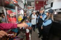 KURUYEMİŞ - Gaziosmanpaşa'da Okul Kantinleri Ve Çevresinde Denetleme