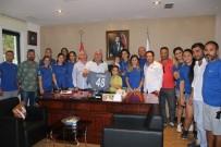 MEHMET ESEN - Hentbolculardan Başkan Kocadon'a Teşekkür