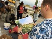 26 EYLÜL - İpek Yolu Sanat Çalıştayı Katılımcılarından Tüllüşah Resimleri