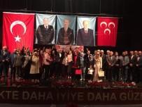 DİVAN BAŞKANLIĞI - MHP Bilecik İl Başkanlığına Mehmet Karuk Yeniden Seçildi