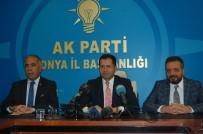 İHRACATÇILAR MECLİSİ - Milletvekili Altunyaldız, Türkiye Ve Konya Gündemini Değerlendirdi