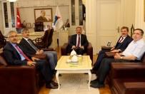 İLYAS ÇAPOĞLU - Rektör Karabulut'a Ziyaretler Devam Ediyor