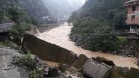 Rize'de Şiddetli Yağışlar