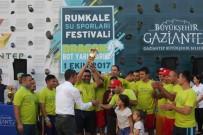 ŞEHITKAMIL BELEDIYESI - Su Sporları Yarışması Nefes Kesti