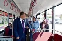 OTOBÜS SEFERLERİ - Trambüs Hattının ÖZSAN'a Kadar Uzatılması