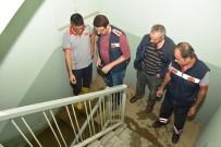 YOĞUN MESAİ - Uşak'ta Etkili Olan Sağanak Yağışın İzleri Silindi