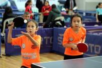 MERKEZ HAKEM KURULU - 13 Yaş Altı Masa Tenisi Türkiye Şampiyonası Başladı