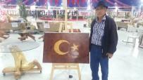 15 Temmuz Şehitleri Anısına Ardıçtan Türk Bayrağı