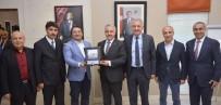 BİNALİ YILDIRIM - Bakan Arslan'dan Ümit Kalko'ya Teşekkür Ziyareti