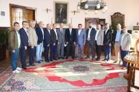 DEMİRYOLLARI - Başkan Bakıcı TCDD Bölge Müdürü Nihat Aslan'ı Ziyaret Etti