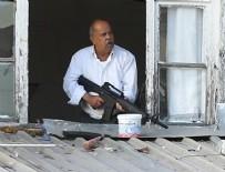 SİLAHLI SALDIRGAN - Başkent'te film sahnelerini aratmayan çatışma