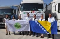 BOSNA HERSEK - Bosna Hersek'ten Suriyelilere 15 Tırlık Yardım