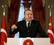AZERBAYCAN - Cumhurbaşkanı Erdoğan'dan Rakka'da Teröristbaşı Öcalan'ın Posterinin Açılmasına Sert Tepki