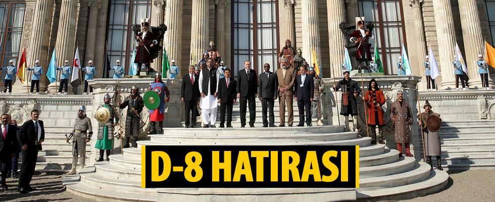 D-8 Zirvesi'ne katılan liderlere mehteran sürprizi