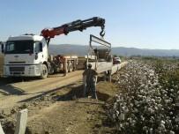 Dalama Sulaması Yenileme İnşaatında Çalışmalar Devam Ediyor