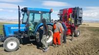 TÜRKIYE ŞEKER FABRIKALARı - DAP İdaresi Makine Desteğiyle Çiftçinin Yüzünü Güldürdü