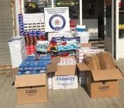 SIGARA - Düzce'de Polisinden Yasa Dışı Tütün Operasyonu