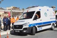 AMBULANS ŞOFÖRÜ - Edirne'nin İlk Kadın Ambulans Şoförü Direksiyona Geçti