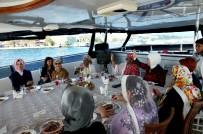 İSTANBUL BOĞAZI - Emine Erdoğan Misafirlerini Teknede Ağırladı