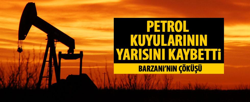 IKBY petrol kuyularının yarısını kaybetti