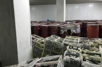 KAÇAK ŞARAP - İzmir'de 40 Bin Şişe Kaçak İçki Ele Geçirildi