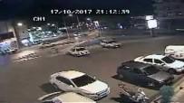 TİCARİ ARAÇ - Kaza Anı Güvenlik Kamerasına Yansıdı