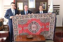 TİCARET ANLAŞMASI - Kolombiya Ankara Büyükelçisi, Vali Demir'i Ziyaret Etti