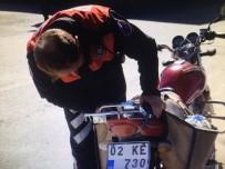 Malatya'da Motosikletler Denetlendi