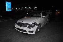 KıZıLAĞAÇ - Manavgat'ta Trafik Kazası Açıklaması 1 Yaralı