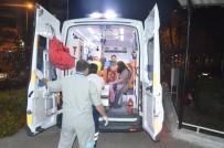 Manisa'da Tır Otomobile Çarptı Açıklaması 8 Yaralı