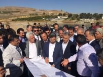 MEHMET ERDOĞAN - Milletvekilleri Kahta'da Sahil Yolu Projesini İnceledi