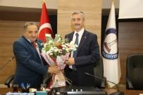 GENEL BAŞKAN YARDIMCISI - Muhtarlardan Belediye Başkanı Tahmazoğlu'na Ziyaret