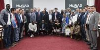 DEMOKRATIK KONGO CUMHURIYETI - MÜSİAD Konya Şubesi Demokratik Kongo Cumhuriyeti Heyetini Ağırladı
