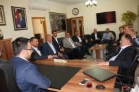 NTSO Başkanı Parmaksız, AK Parti İl Başkanı Yanar'ı Ziyaret Etti