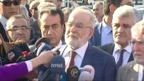 ALLAH - Saadet Partisi Genel Başkanı Karamollaoğlu, Baykal'ı Ziyaret Etti