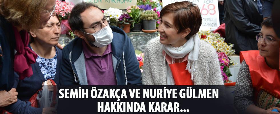 Semih Özakça ve Nuriye Gülmen hakkında karar