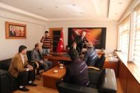MEHMET NURİ ÇETİN - Spor Camiasından Kaymakam Çetin'e Ziyaret