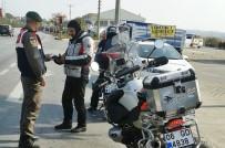 PARA CEZASI - Sungurlu'da 'Son Sürat' Uygulaması Yapıldı