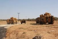 REYHANLI - Suriye Sınırına Zırhlı Personel Taşıyıcı Sevkiyatı
