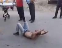 AMATÖR KAMERA - Türkiye'de ilk kez 'flakka' isimli uyuşturucu kullanan bir kişi görüntülendi